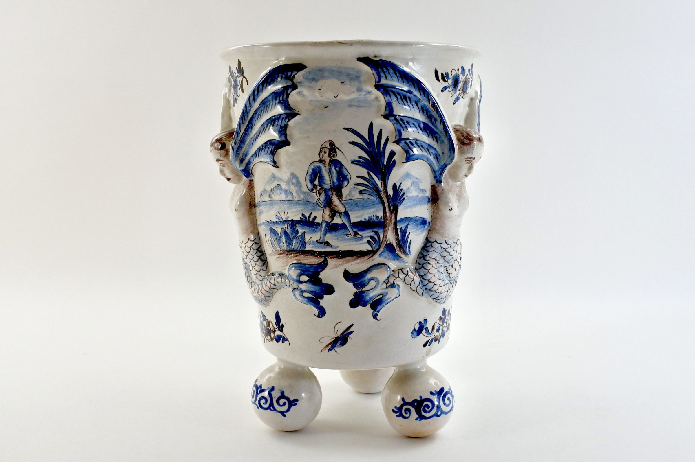 Rinfrescatoio Niderviller in ceramica