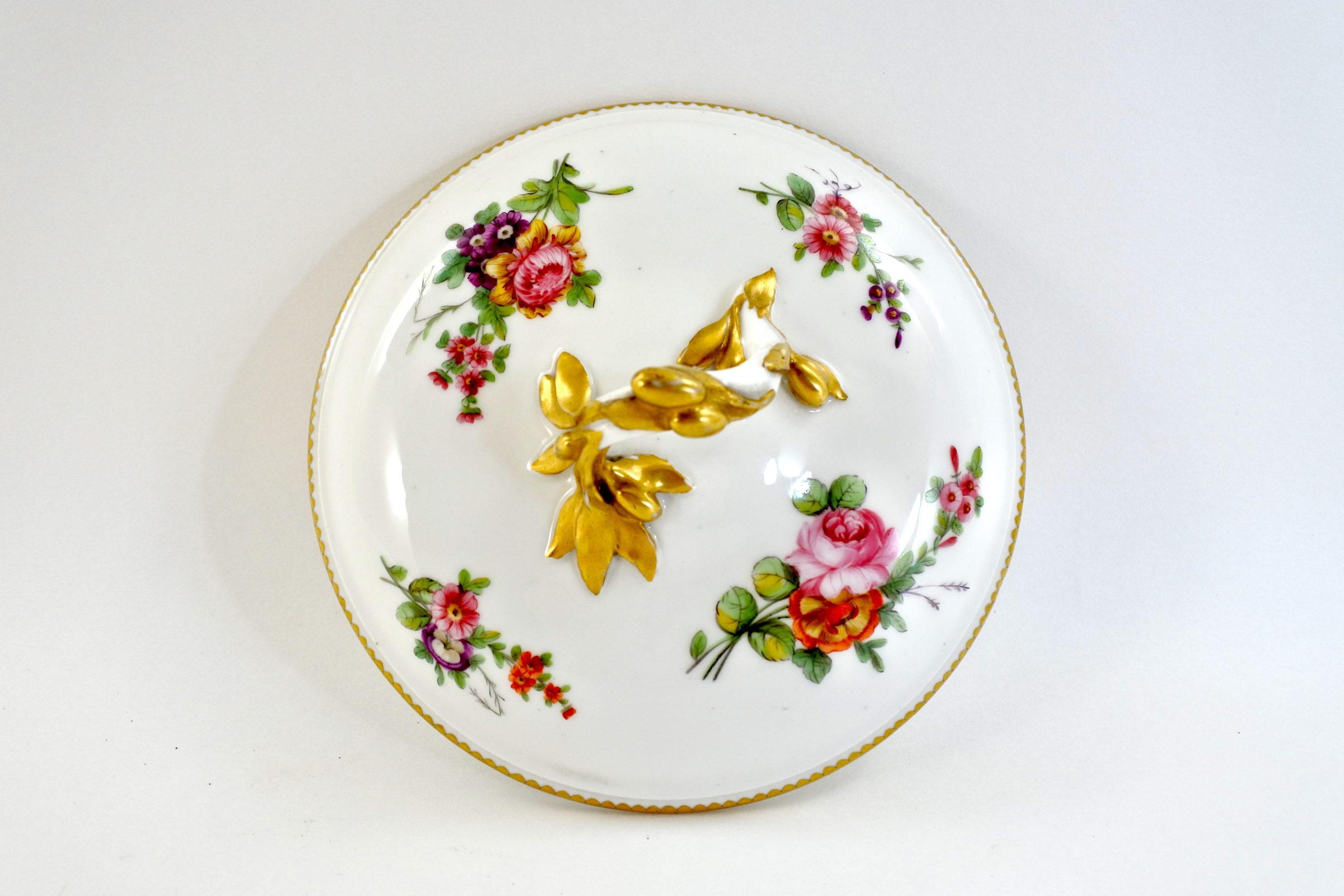 Zuppiera da puerpera in porcellana di Sèvres - 5