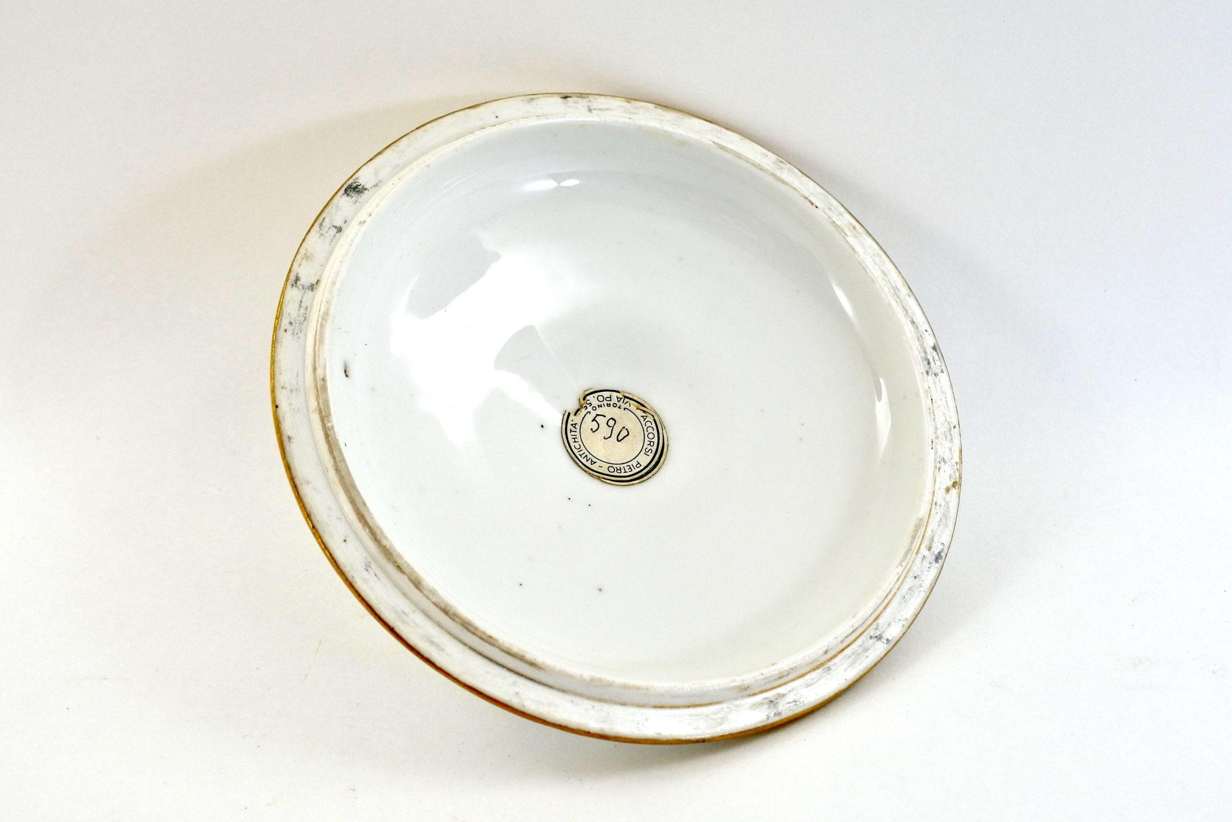 Zuppiera da puerpera in porcellana di Sèvres - 6