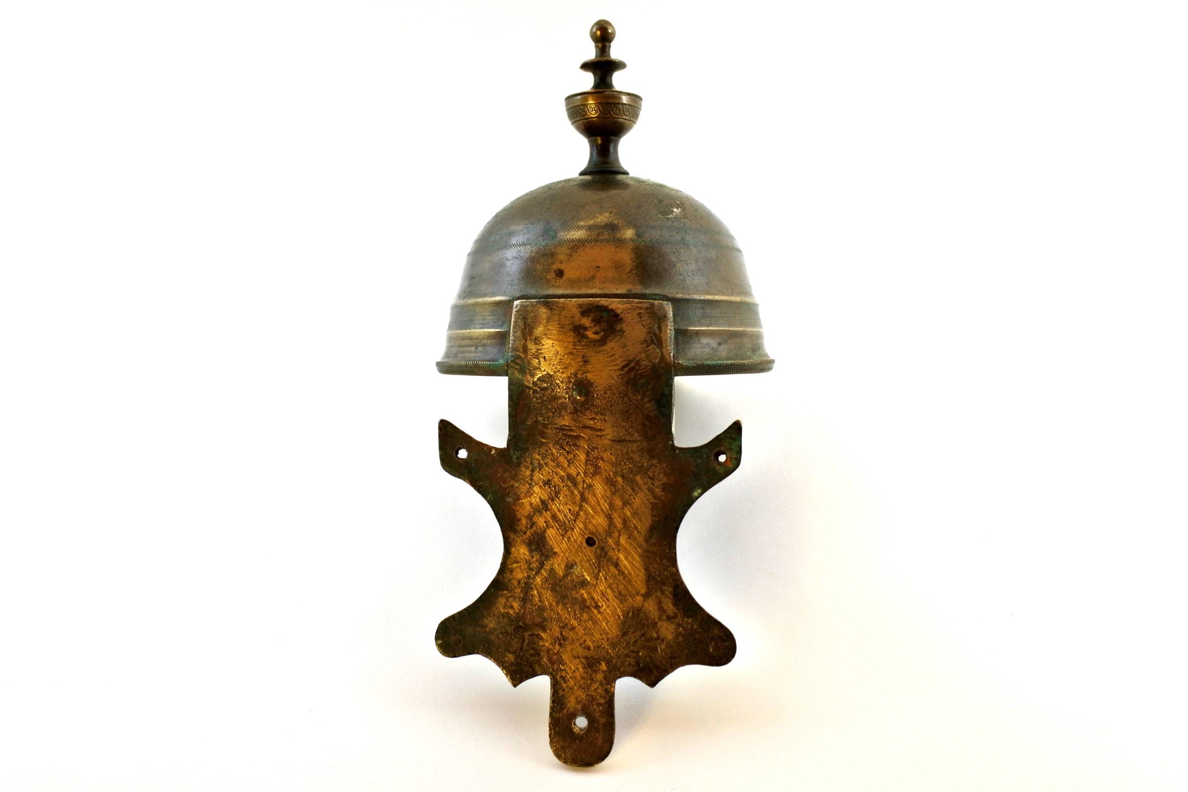 Acquasantiera in bronzo del XVIII° secolo - 4
