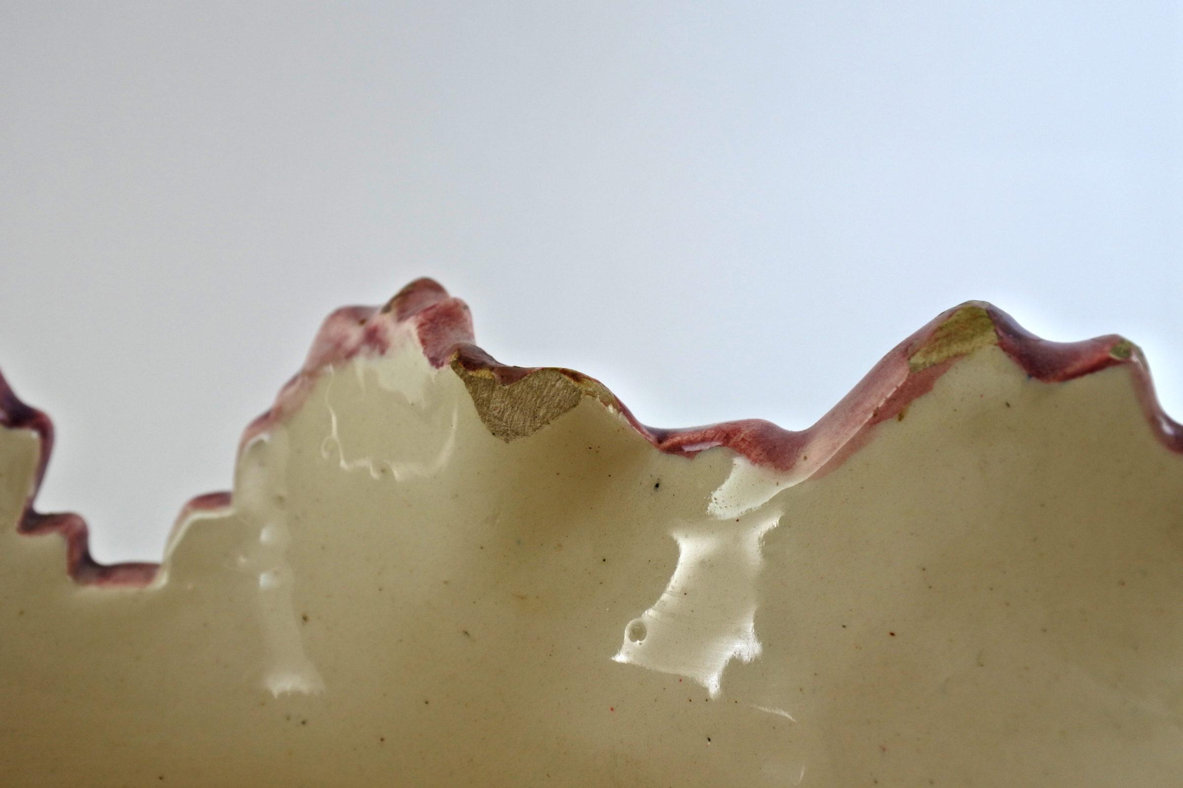 Cache pot Massier in ceramica barbotine con tulipani pappagallo – Tulipes perroquet - 3