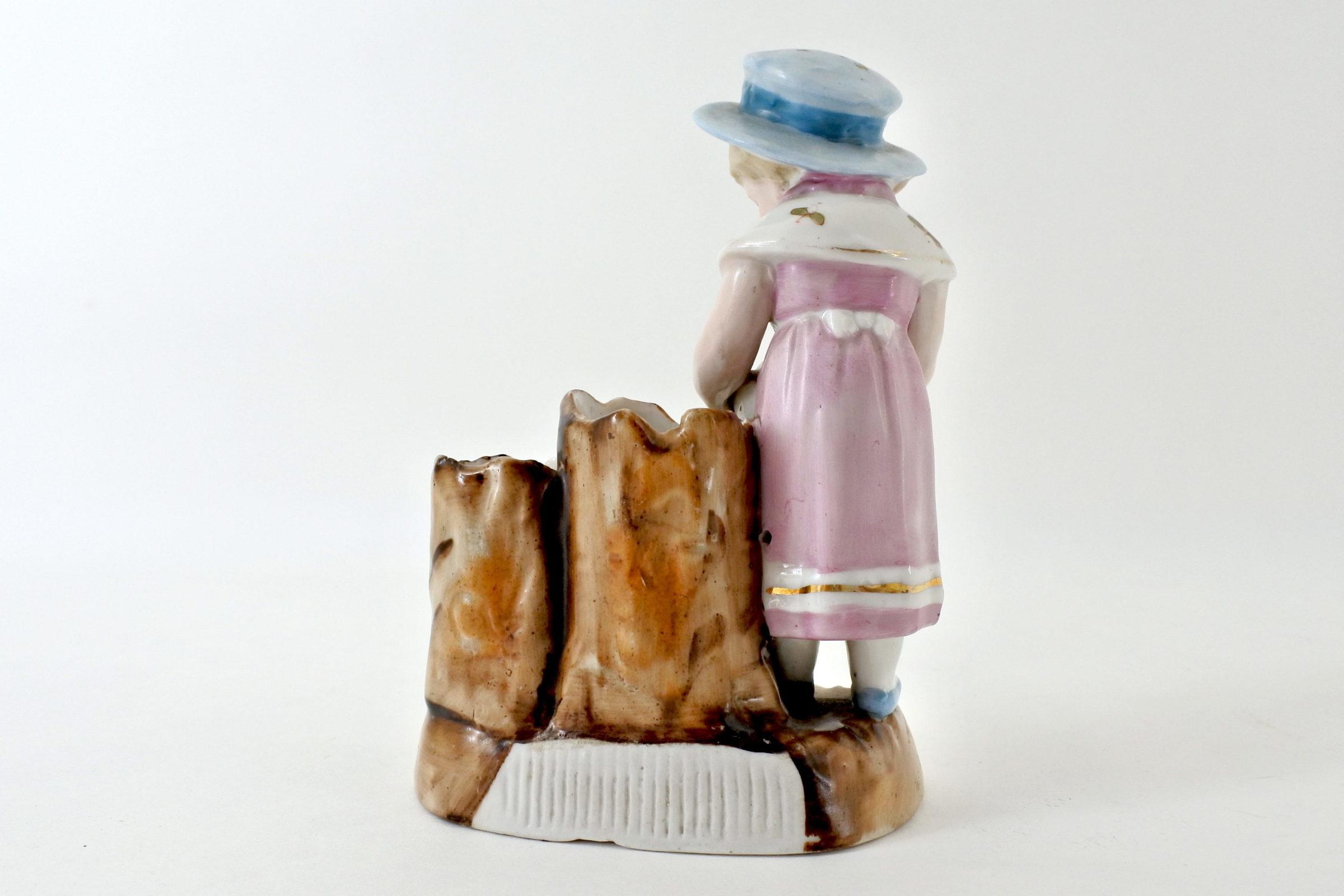 Statuina portafiammiferi in ceramica - Pyrogène - 3