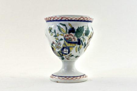Portauovo in ceramica – Manifattura di Gien