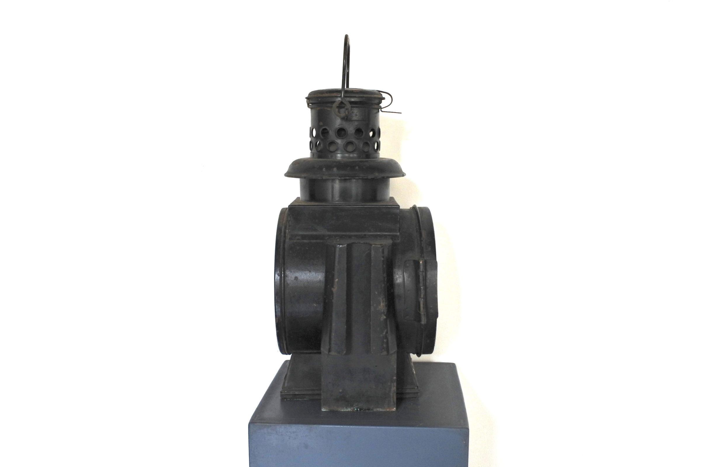 Lanterna in metallo Schiffslafernenwerk - Ueckermünde 1967 - 2