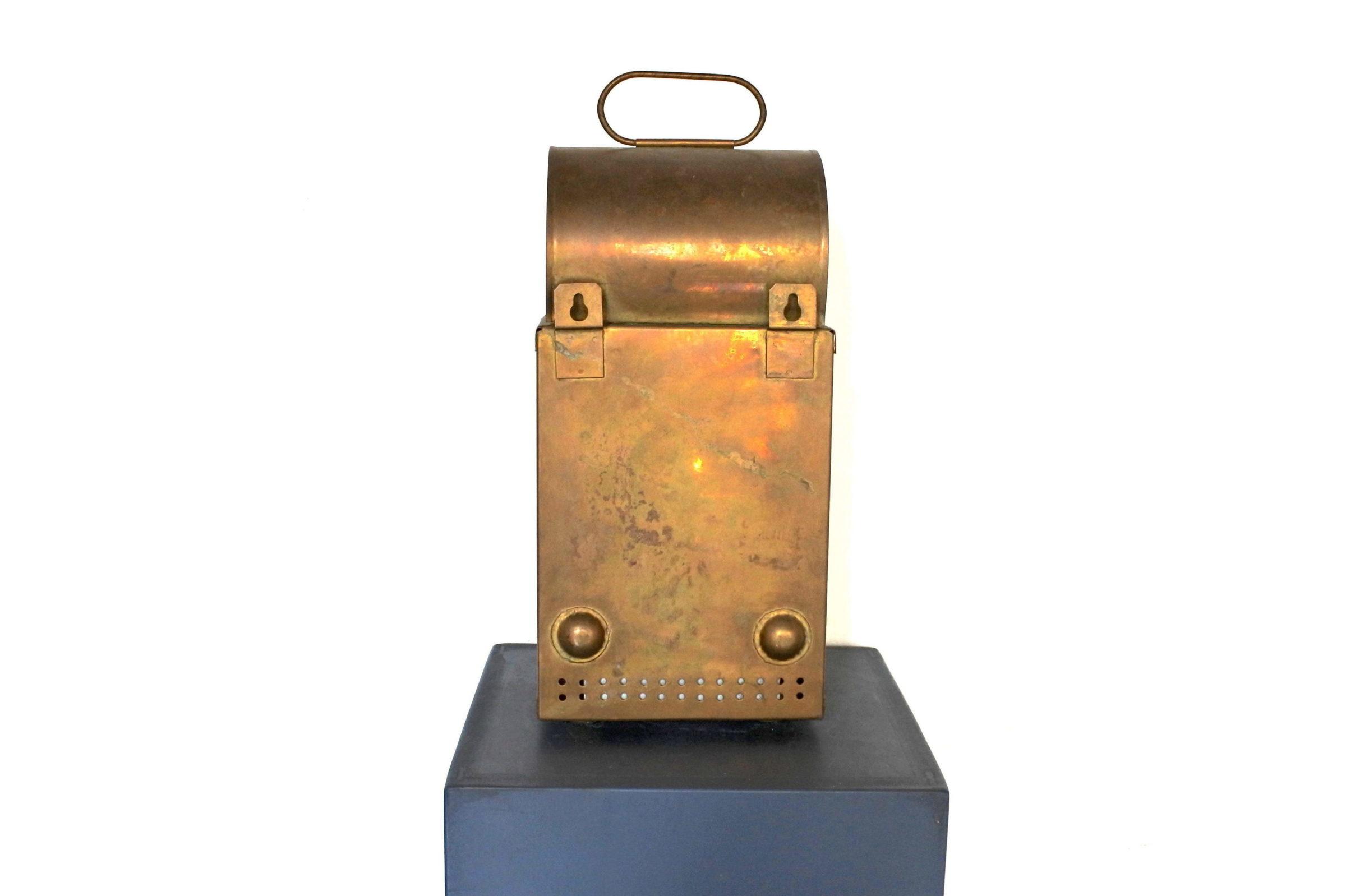 Lanterna in ottone con alimentazione a petrolio - 2