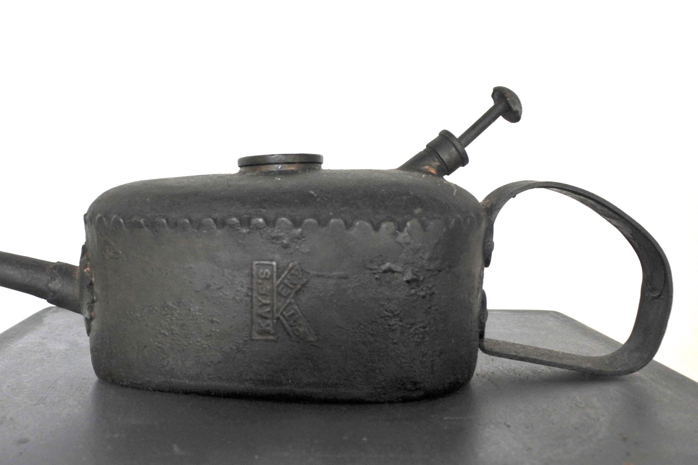 Oliatore in metallo - Kaye's patent n° 228439 - 3