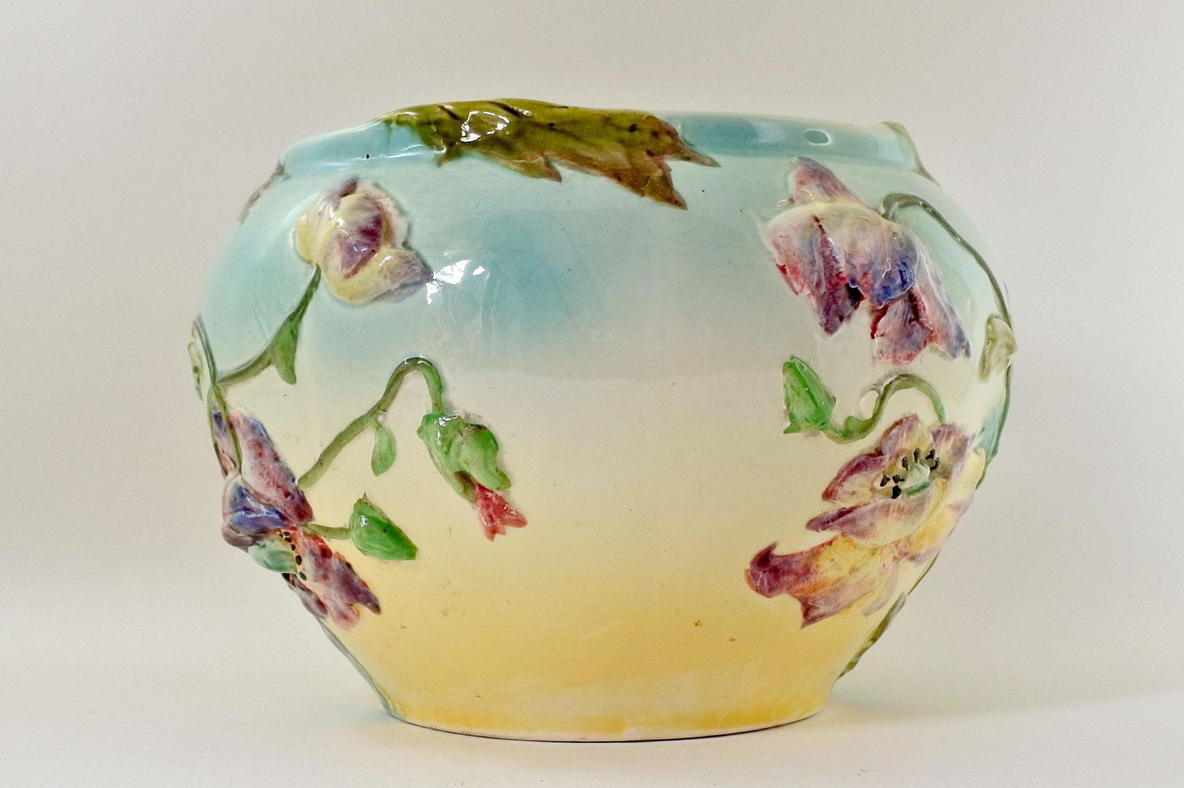 Cache pot in ceramica barbotine - Manifattura Longchamp - 4