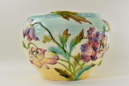Cache pot in ceramica barbotine - Manifattura Longchamp