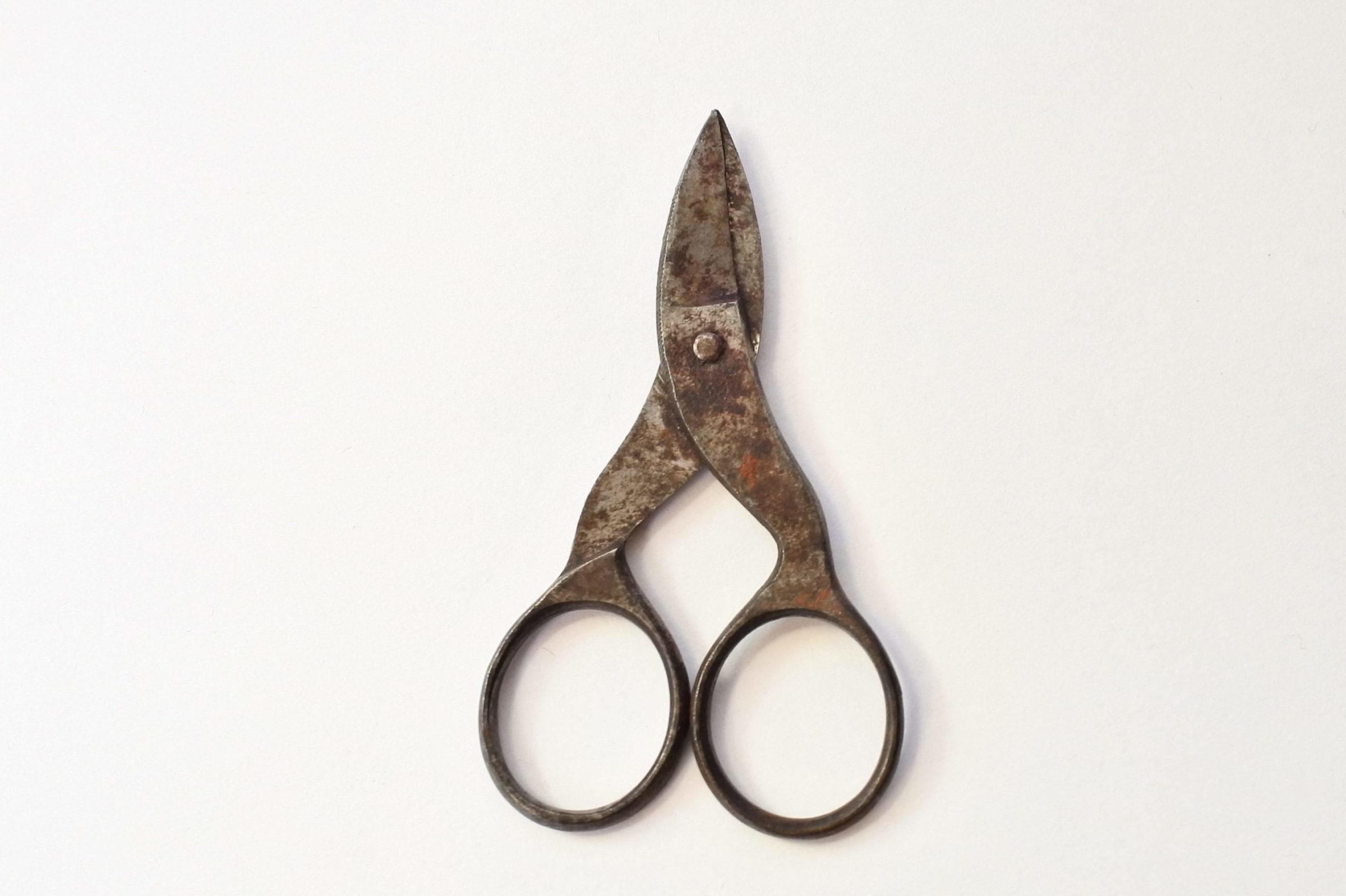 Forbicine del XIX° secolo in ferro