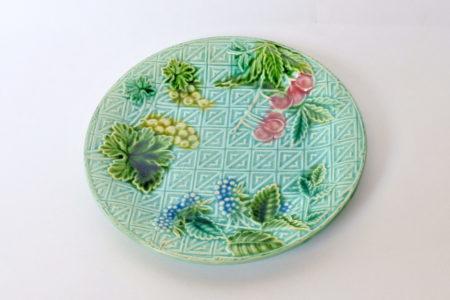 Piatto in ceramica barbotine - Manifattura Salins