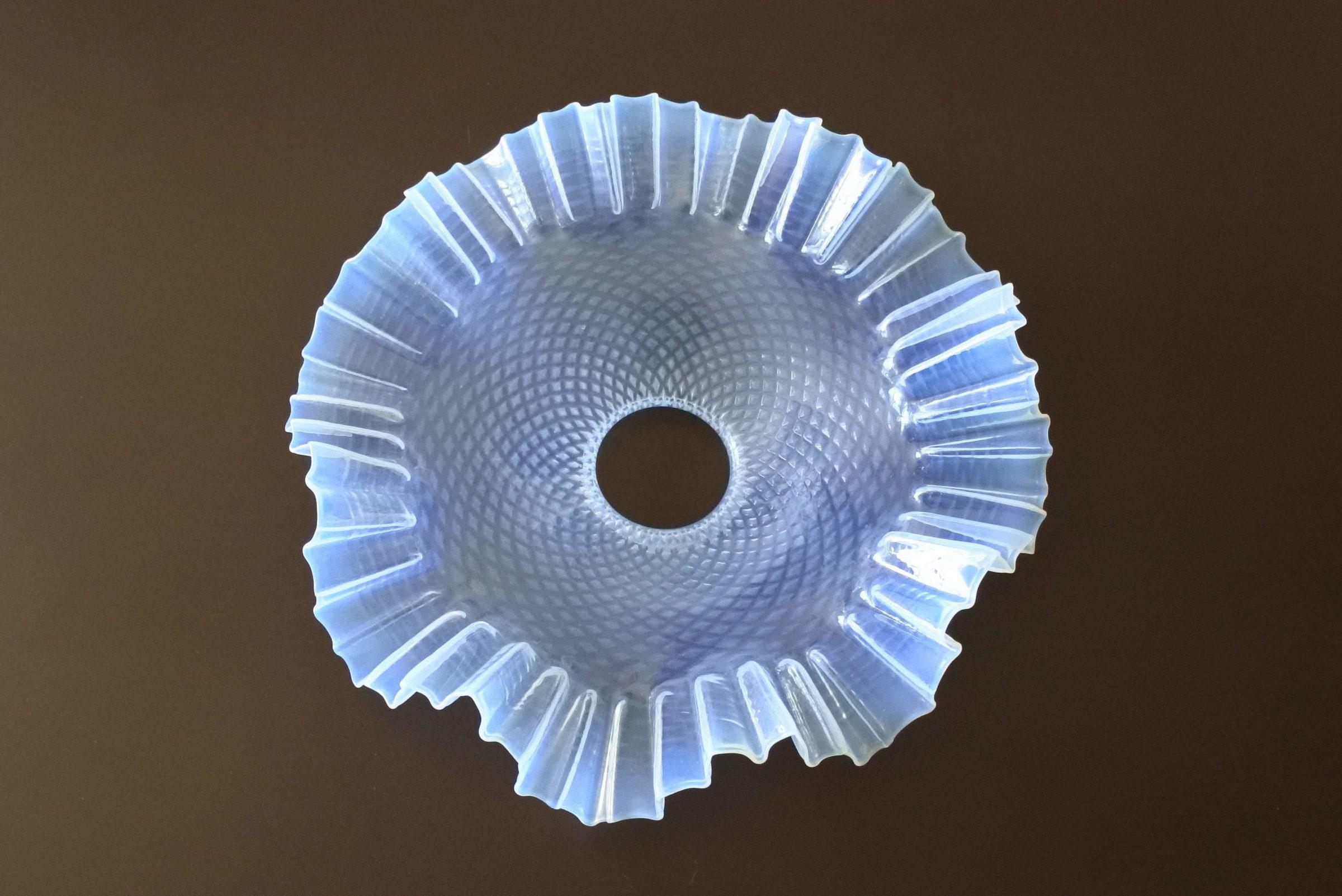 Vetro opalino iridescente per lampada a sospensione - 2