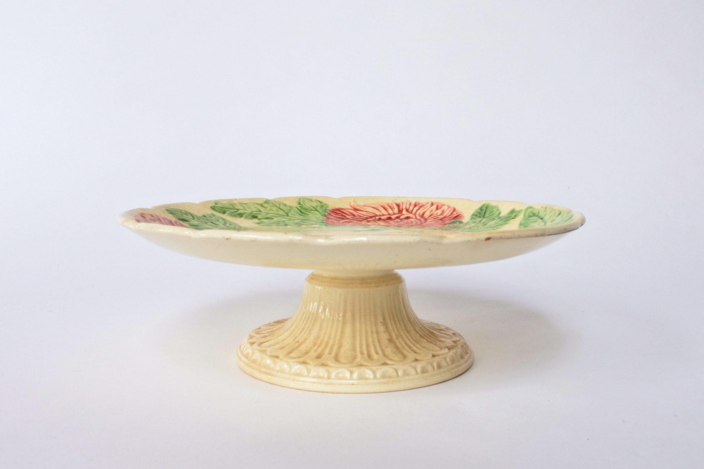 Alzatina in ceramica barbotine - 2