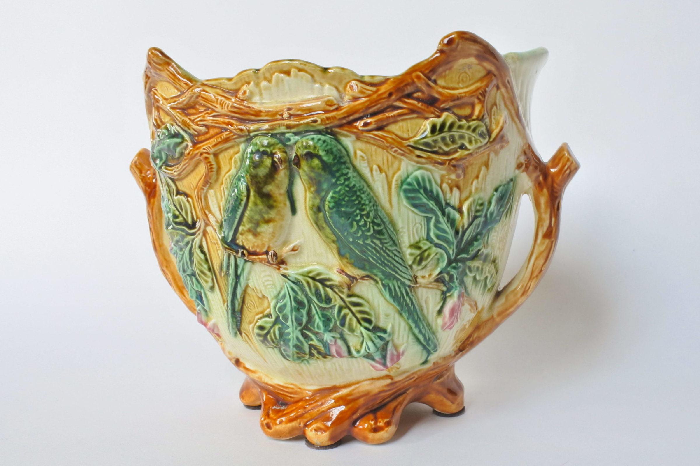 Cache pot in ceramica barbotine - Onnaing n° 352 - 3