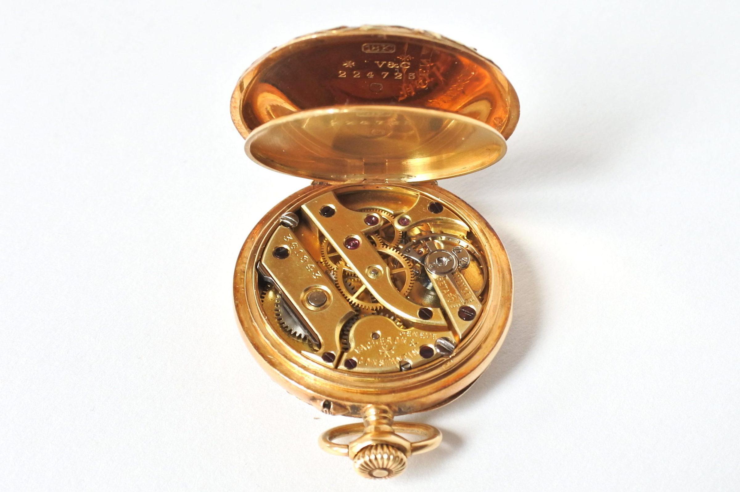 Monachina Vacheron Constantin in oro 18k - 10