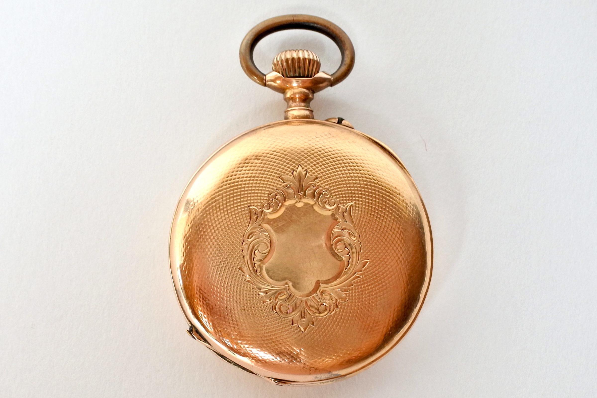 Orologio da tasca in oro 18k - 2