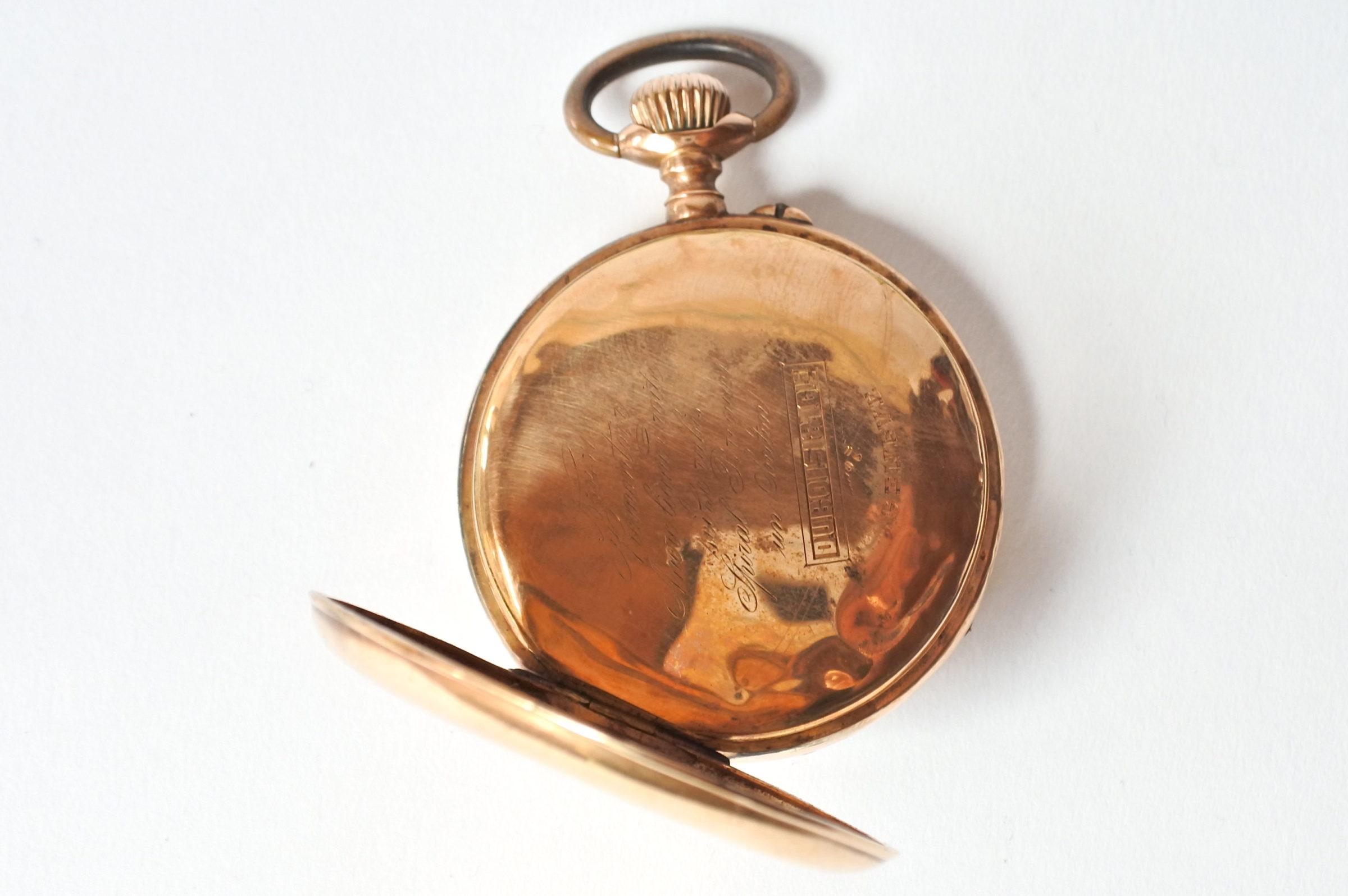 Orologio da tasca in oro 18k - 4