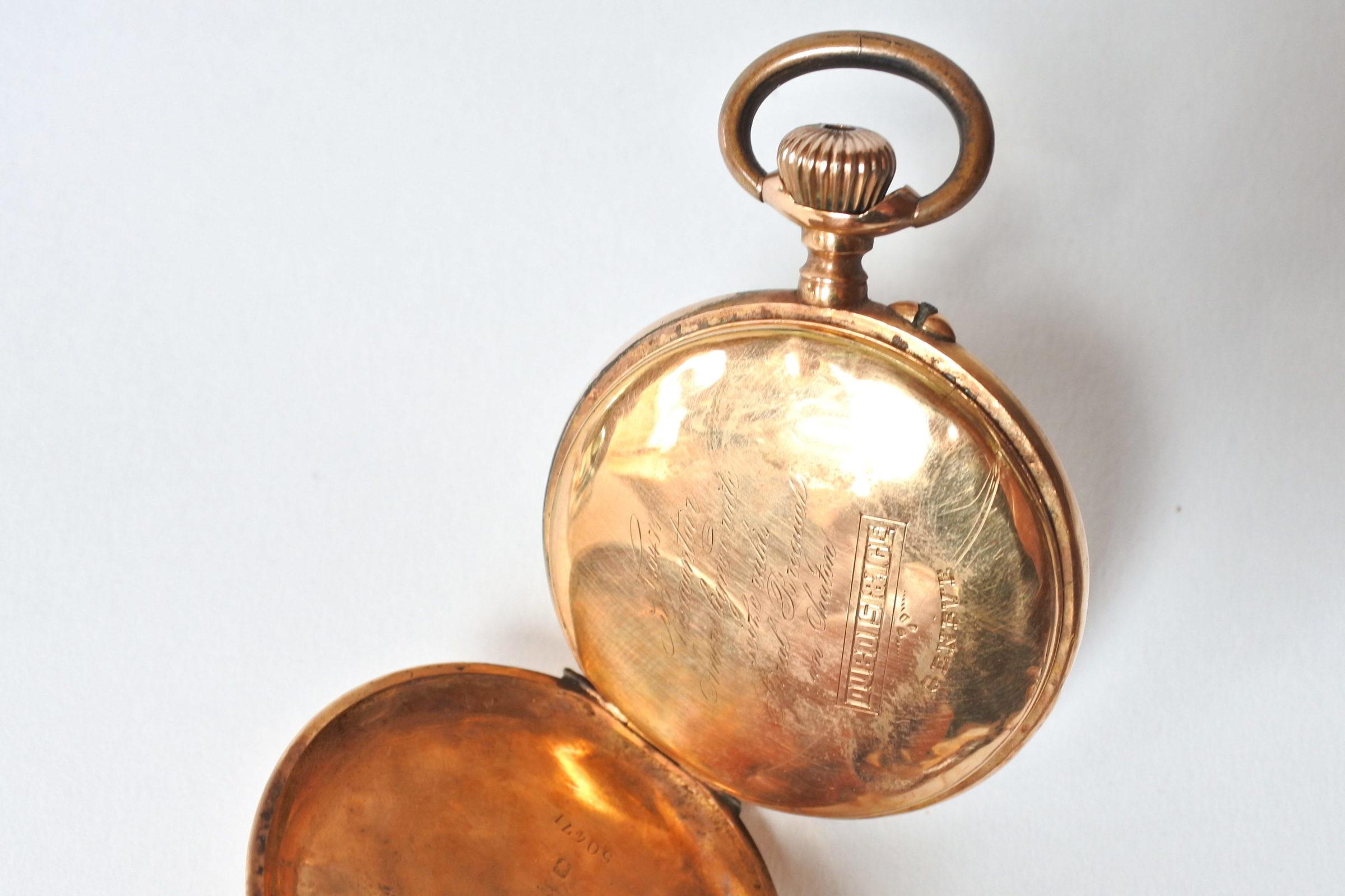 Orologio da tasca in oro 18k - 5