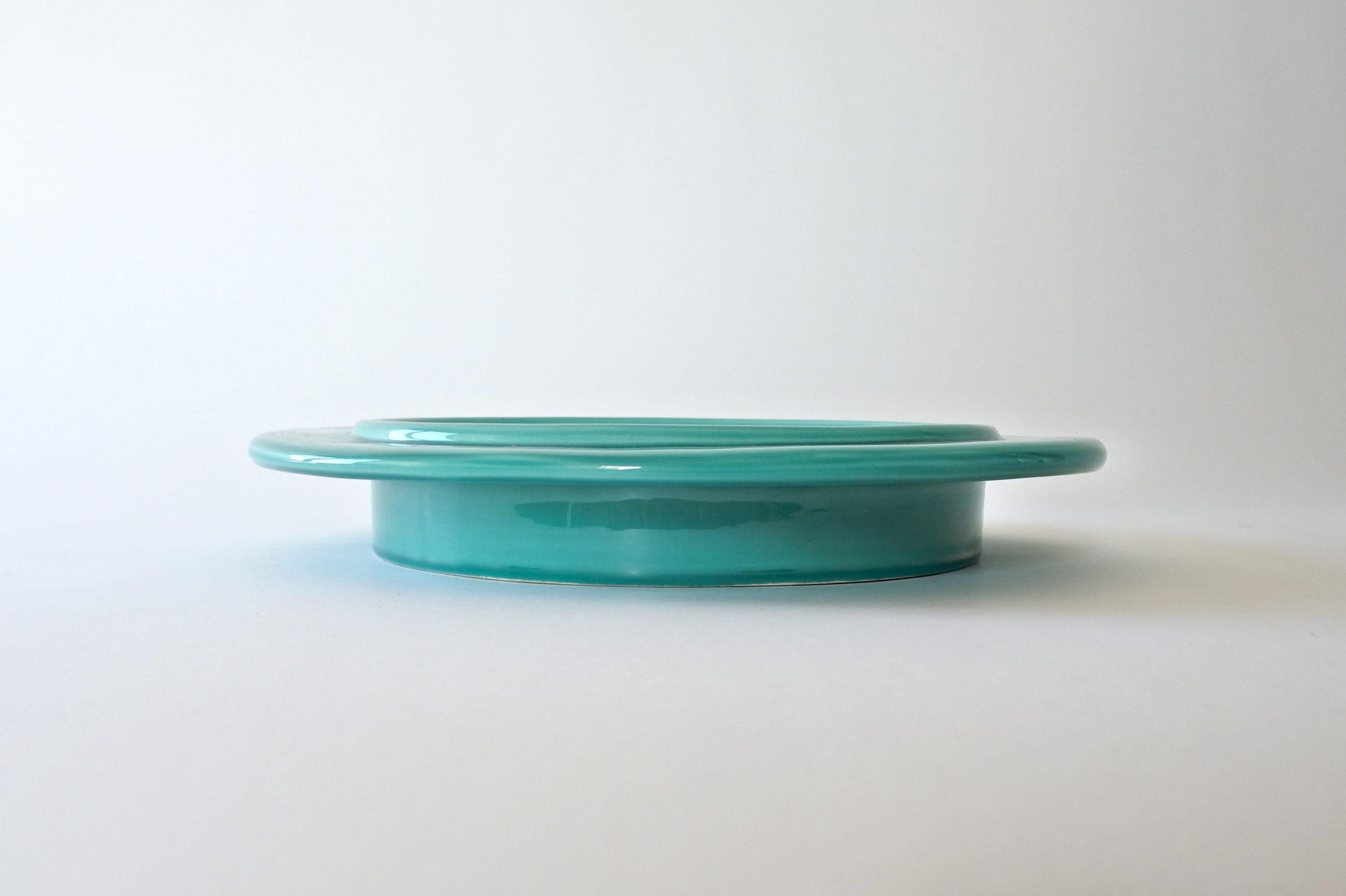 Centro tavola in ceramica - Ettore Sottsass per ceramiche Bitossi - 3