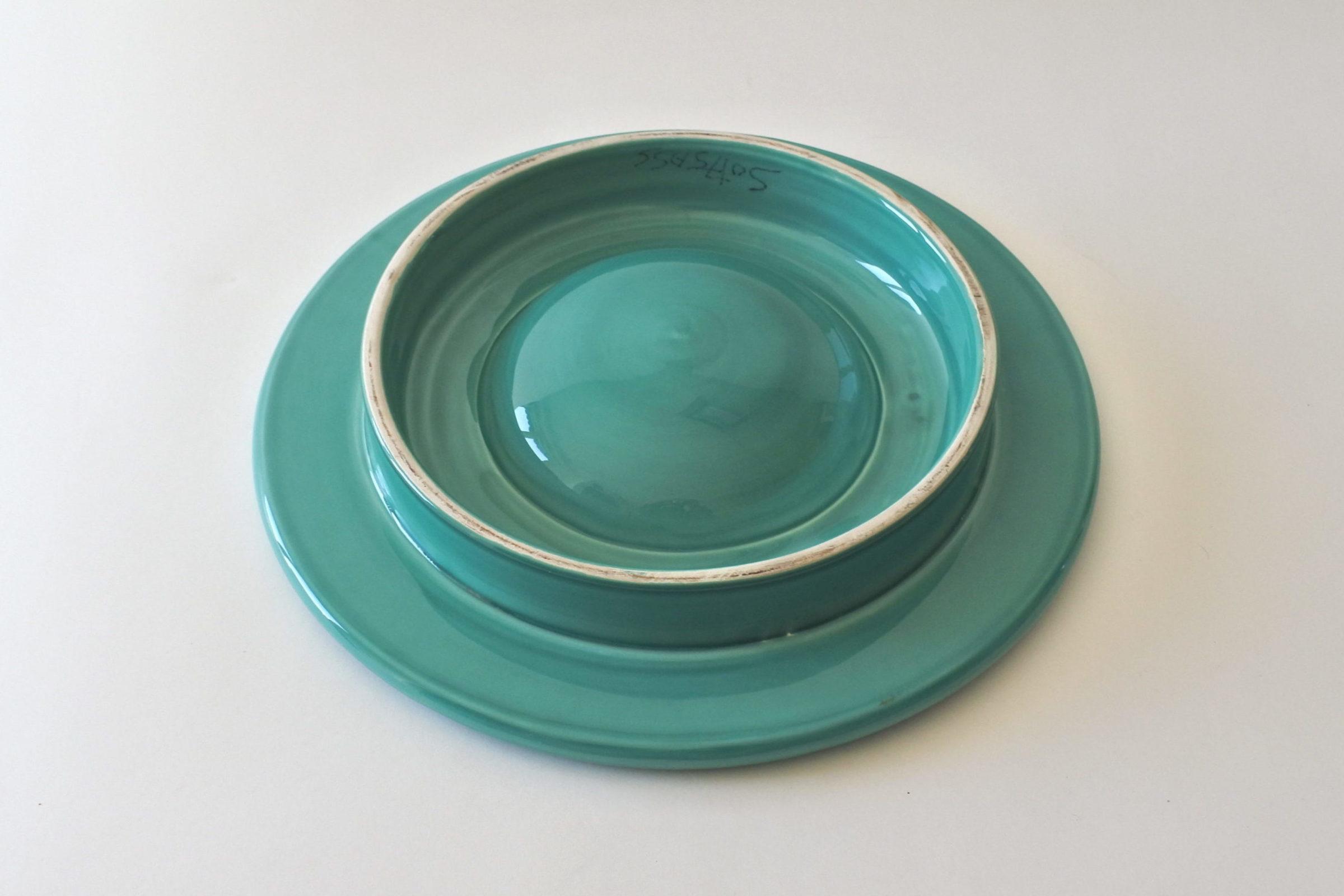 Centro tavola in ceramica - Ettore Sottsass per ceramiche Bitossi - 4