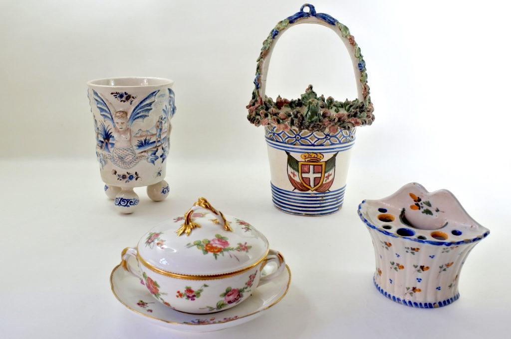Ceramiche e porcellane antiche e di antiquariato