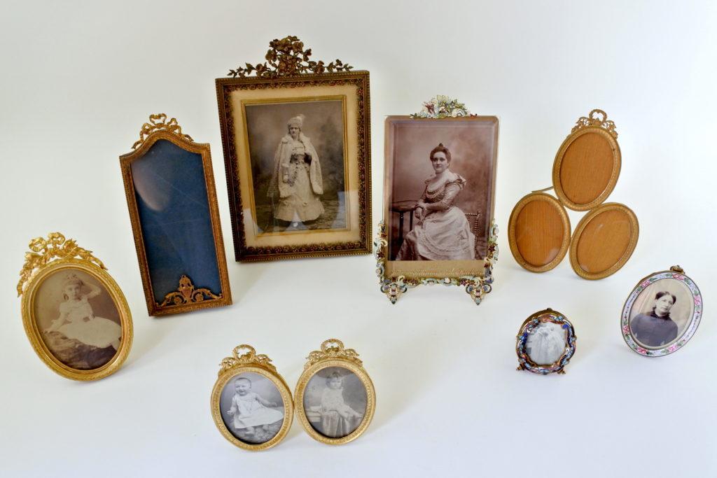 Cornici portafoto antiche e di antiquariato