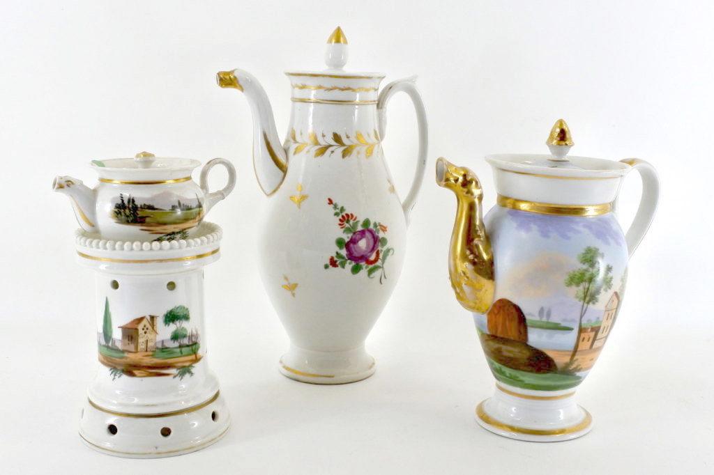 Vecchia Parigi - Vieux Paris - Porcellane del XIX° secolo decorate e dipinte