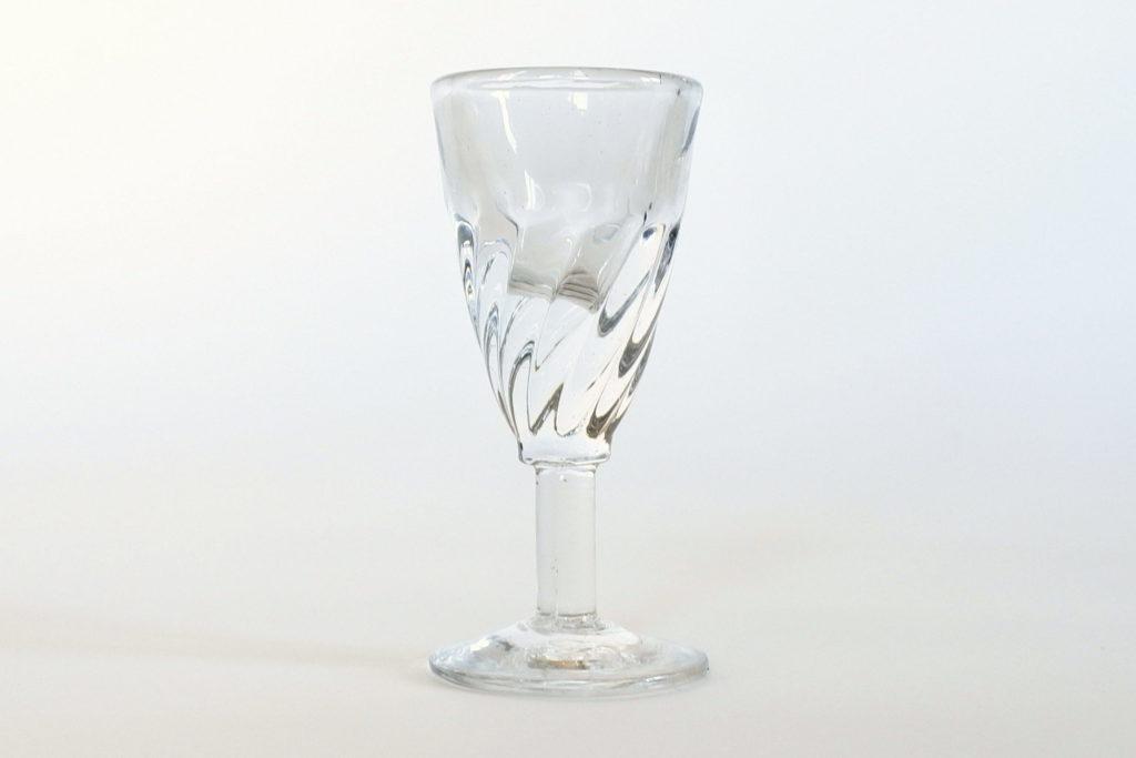 Bicchierino da liquore a calice in vetro soffiato