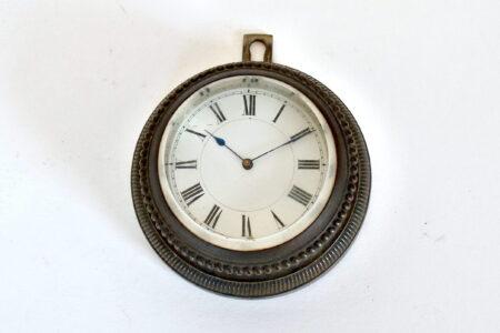 Orologio da tavolo in bronzo con funzione di fermacarte