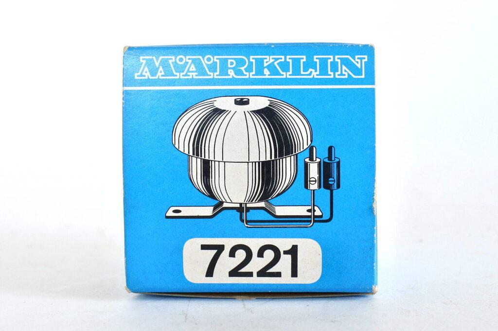 Suoneria elettrica Marklin 7221 con scatola e istruzioni originali - 4