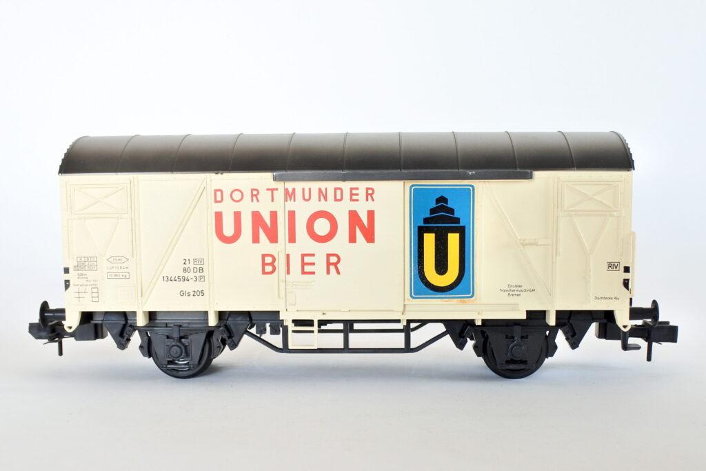 Vagone merci Marklin 5861 scala I Dortmunder Union Bier