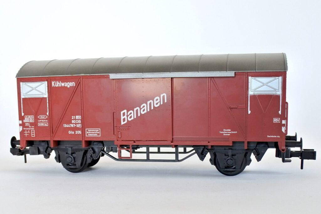 Vagone merci Marklin 5860 scala I Bananen della DB Tedesca