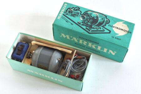 Marklin 1072 motore elettrico 16 V con scatola ed istruzioni originali