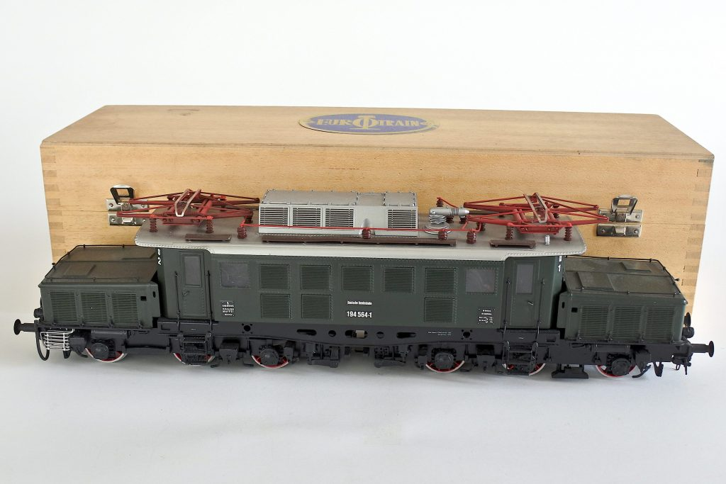 Locomotiva elettrica Eurotrain DB 194 564-1 scala 0 con scatola originale